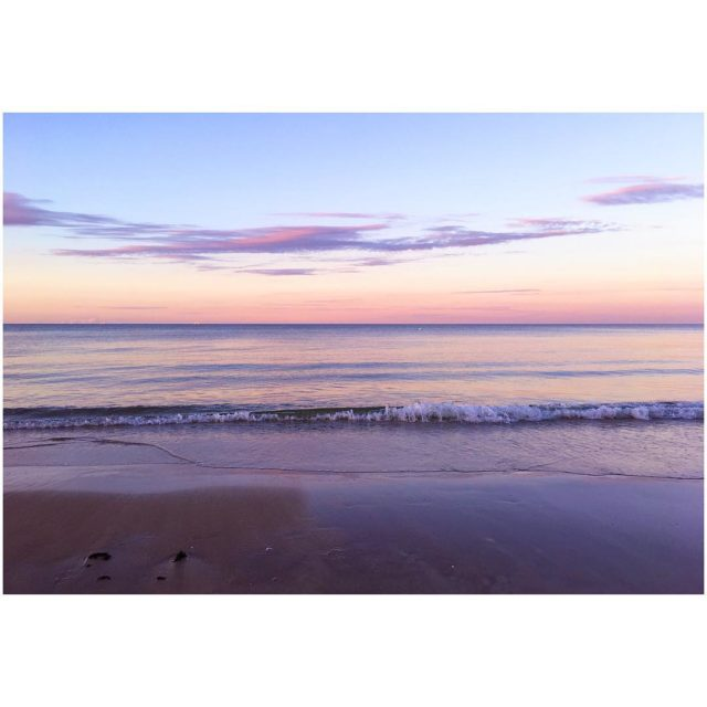 so perfect sea balticsea vitaminsea sunset ros soft pastelpink pastelcolorshellip