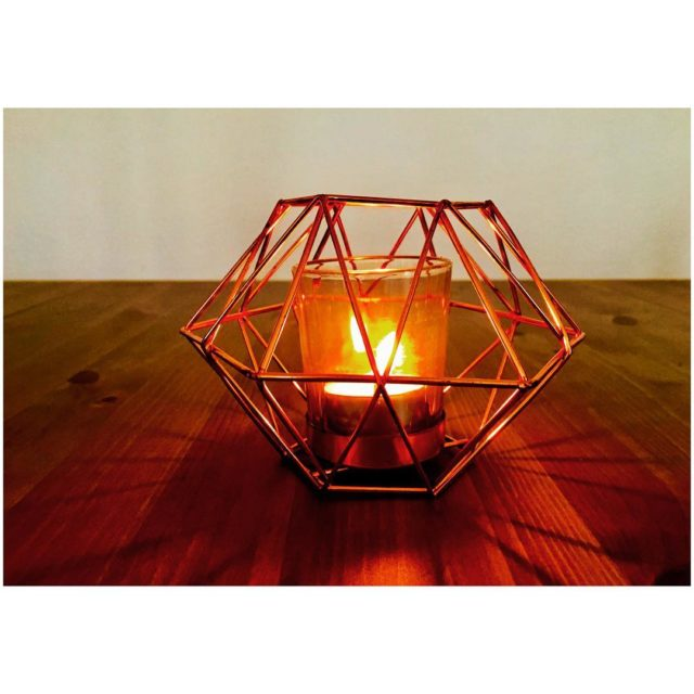 Abendlicht tgif geometricdesign candle geometricdecor candlelight home weekend fridaynightlights fridayfeels